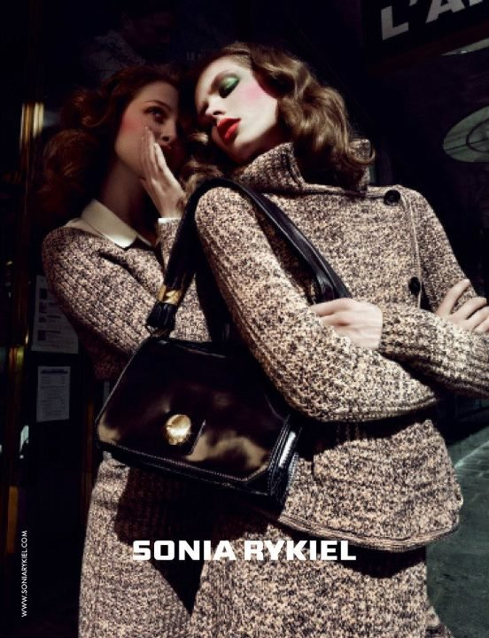Sonia Rykiel drew upon the chic Parisian woman for her Fall campaign.