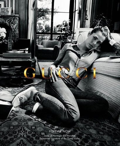 Charlotte Casiraghi once again stars in Gucci's Forever Now campaign.
