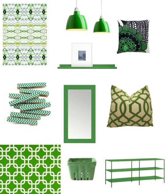 kelly green decor for st patrick s day popsugar home