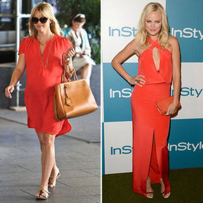 Orange Dresses (Celebrity Pictures and Shopping)