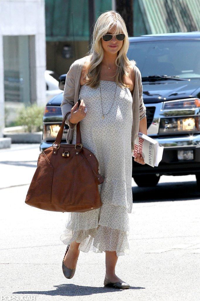 Sarah Michelle Gellar walked in West Hollywood.