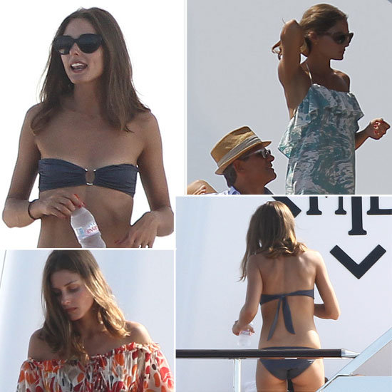 Pictures of Olivia Palermo in a Bikini on Valentino's Yacht