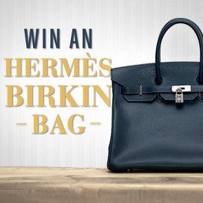 Vintage Hermes Birkin Bag Giveaway