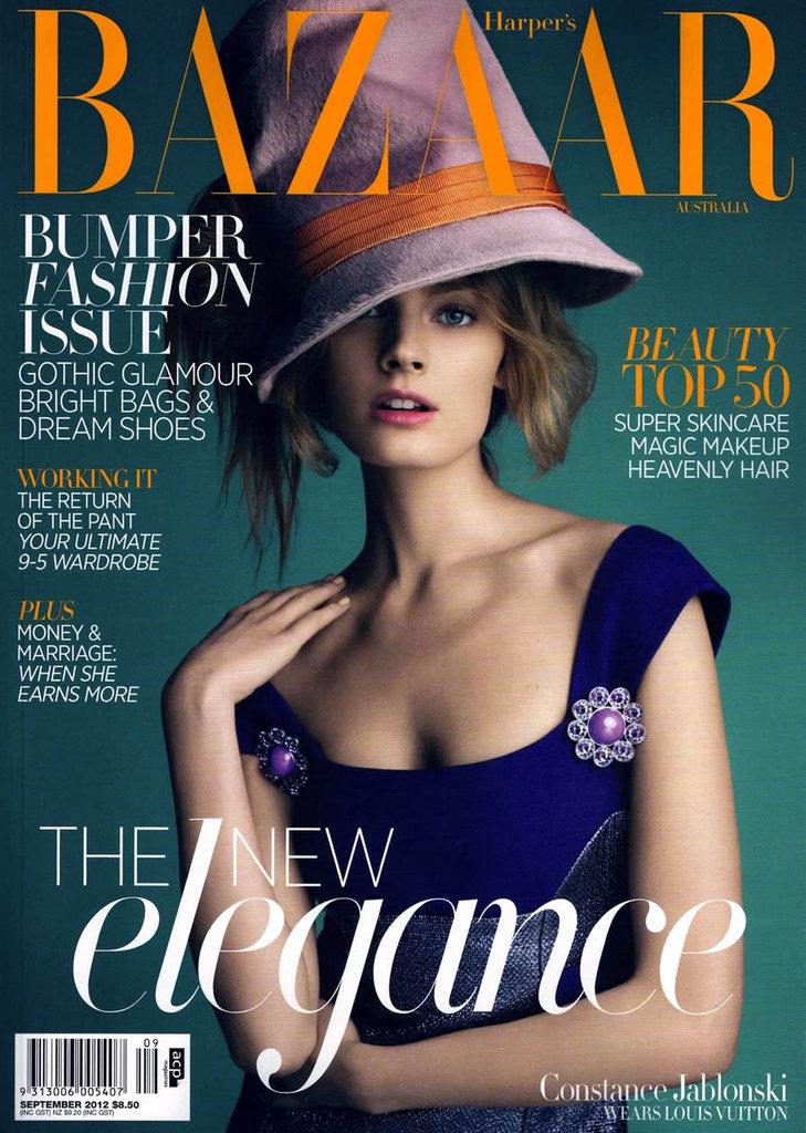 Harper's Bazaar Australia September 2012