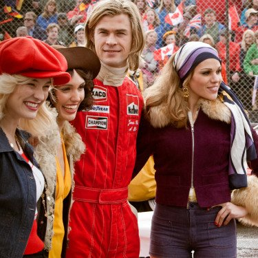 Chris Hemsworth as a Racecar Driver Picture