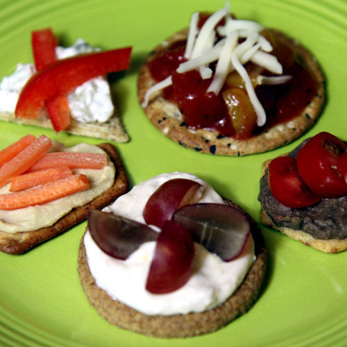 Low-Calorie Cracker Toppings