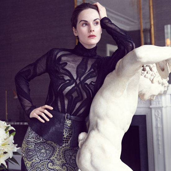 Downton Abbey's Michelle Dockery in Harper's Bazaar September 2012