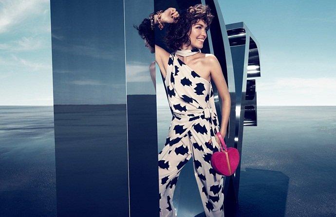 Diane von Furstenberg Fall 2012 Ad Campaign