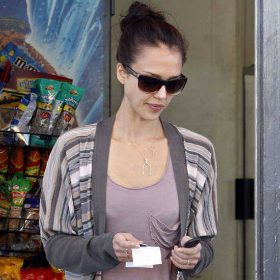 Wishbone Necklaces (Celebrity Pictures and Shopping)