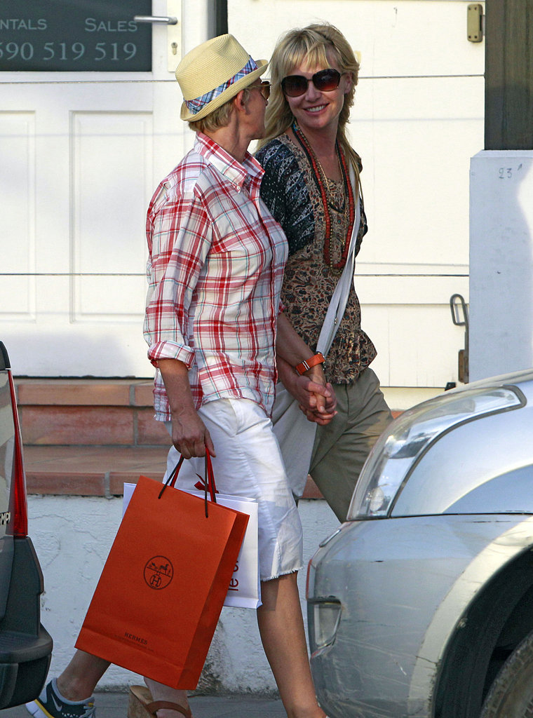 They shopped during a December 2010 vacation to St. Barts.