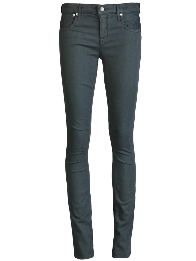 The military trend lends itself well to skinny pants and trousers, and this pair is a surefire hit. Helmut Lang Skinny Pant ($195)
