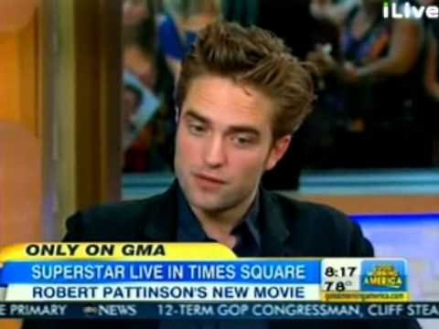 Good Morning America Interview with Robert Pattinson