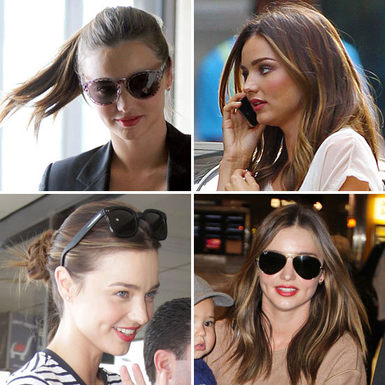 We Asked, She Told: Get Miranda Kerr's Perfect Red-Orange Lip Look