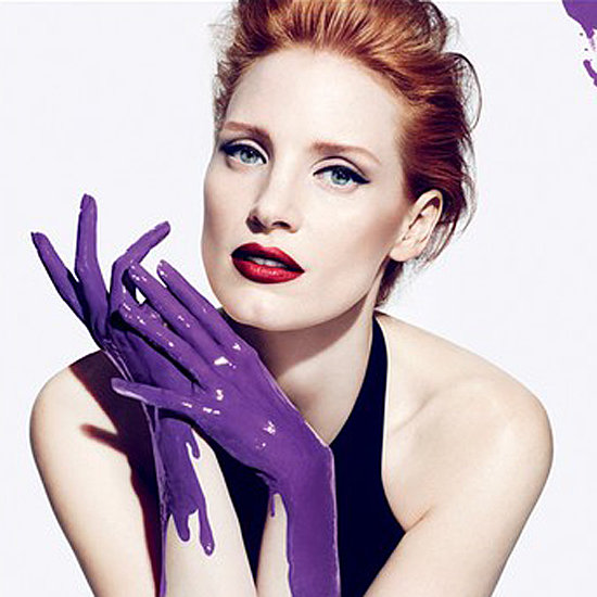 Jessica Chastain's Ad For Yves Saint Laurent Manifesto