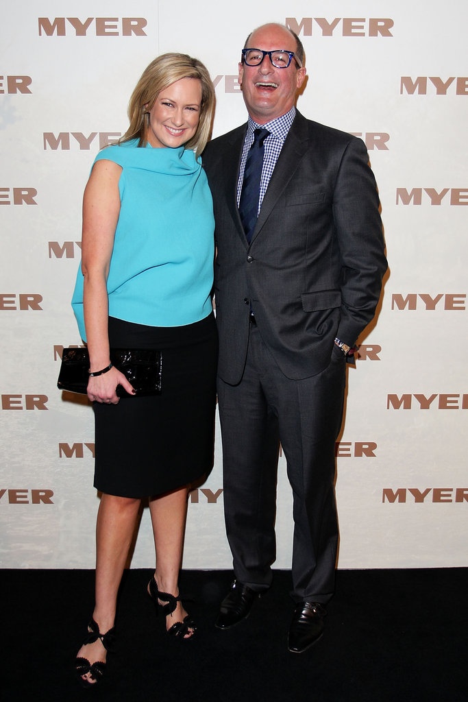 Melissa Doyle and David Koch