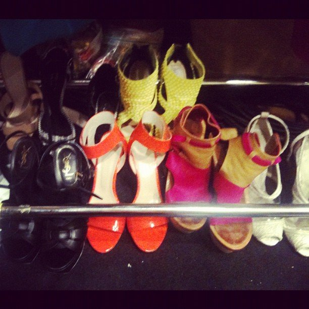Spotted at David Jones Spring Summer 2013 Fashion Launch: colour, colour and more colour!