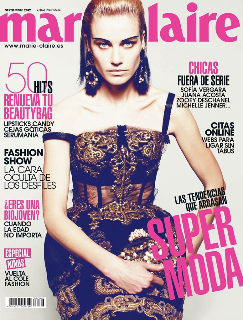 Marie Claire Spain September 2012