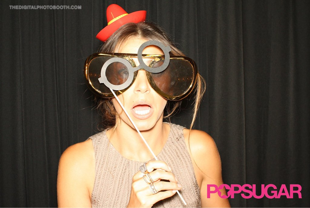 Nikki Reed got goofy.