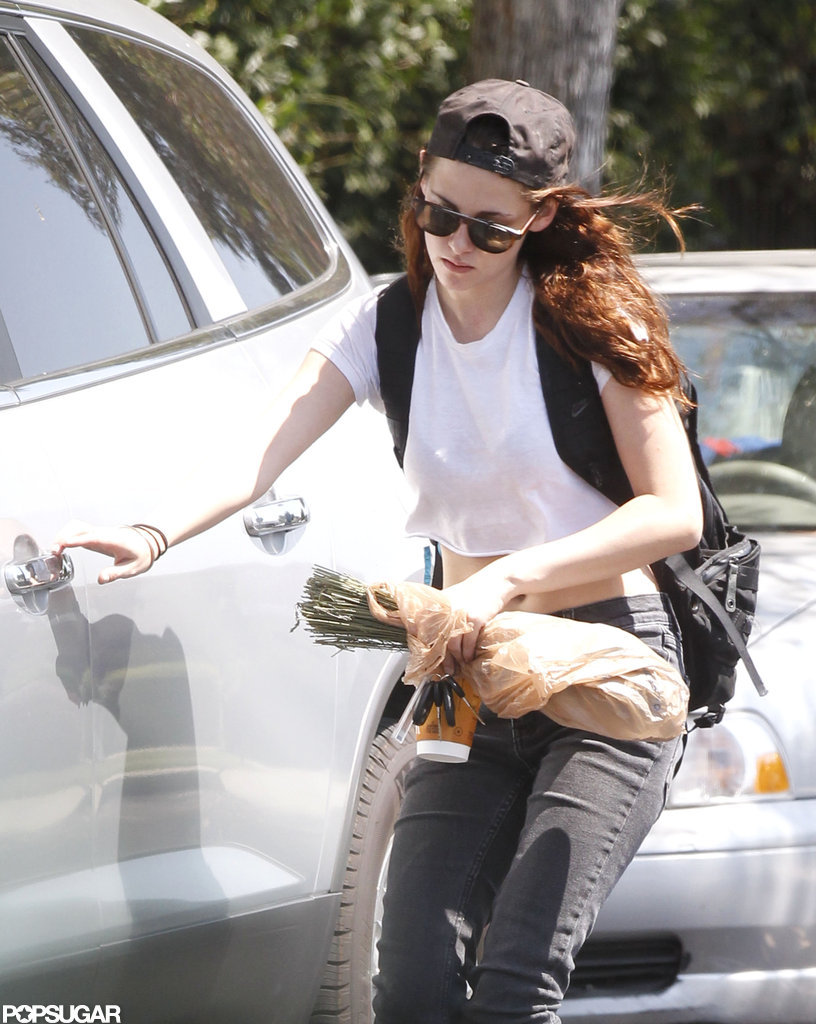 Kristen Stewart came out of hiding.