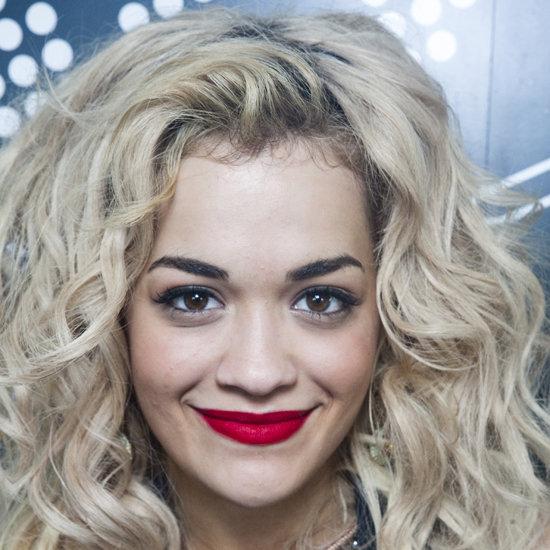Rita Ora's Red Lips at V Festival
