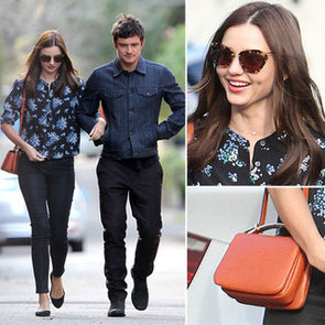 See Miranda Kerr's Chic Off-Duty Style From All Angles: Lunching with Orlando and Dad at Chiswick Restaurant in Sydney