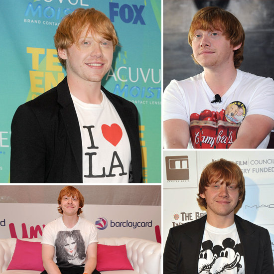 He Wears His Heart on His Shirt