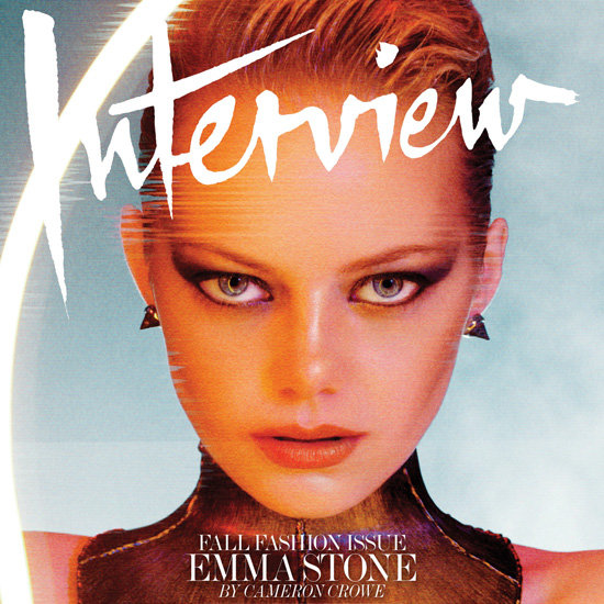 Emma Stone in Interview Magazine | Pictures