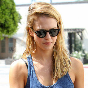Jessica Alba With Blonde Hair For Sin City 2 Video Footage