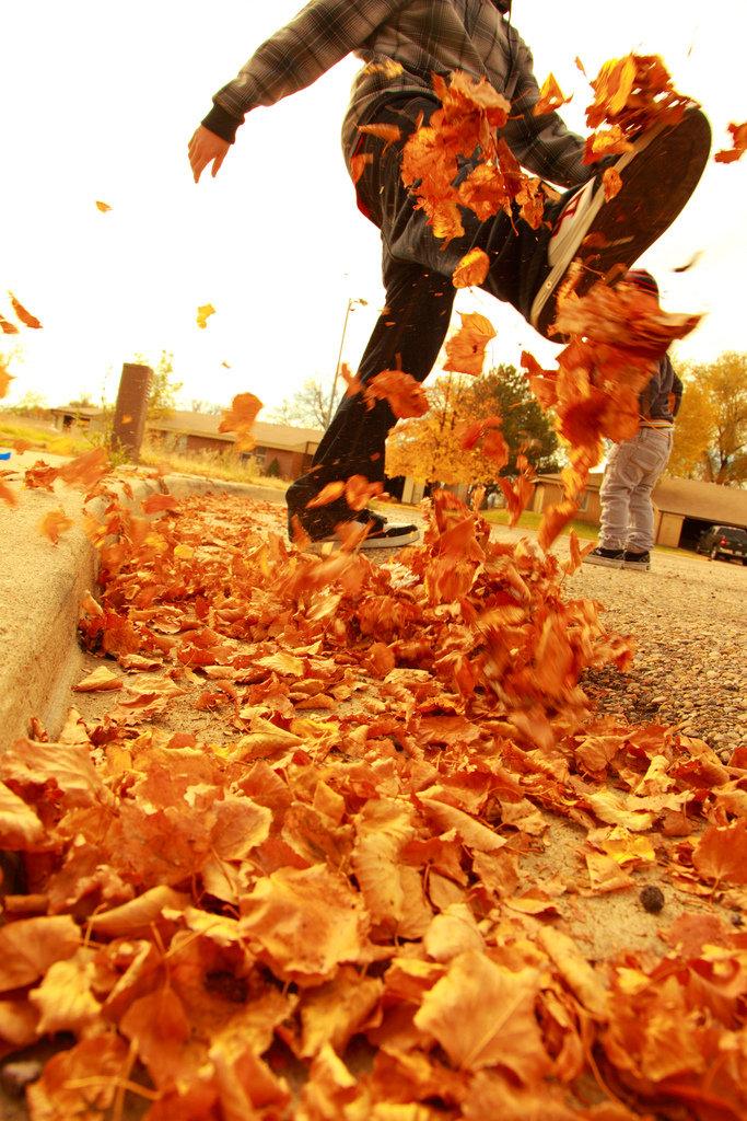 Kicking Up Fall