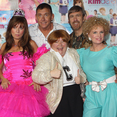 Kath & Kimderella Melbourne Premiere Pictures of Kath, Kim, Sharon, Kel and Brett in Character