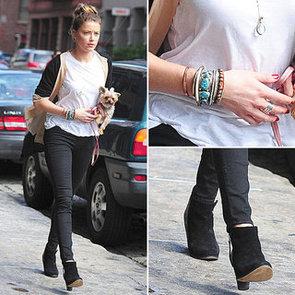 Amber Heard Street Style   August 28, 2012