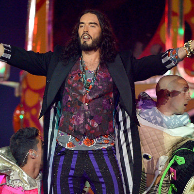 Russell Brand and Geri Halliwell Reportedly Dating After Meeting at Olympics Closing Ceremony
