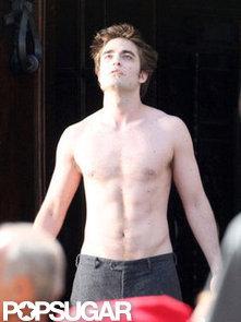 Robert-Pattinson-filmed-shirtless-scene-New-Moon-Italy