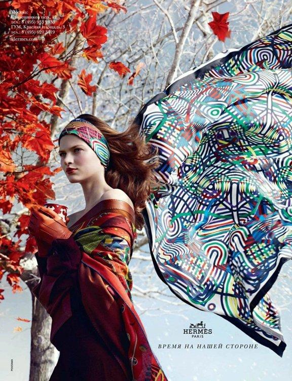 Hermès Fall 2012 Ad Campaign