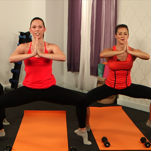 10-Minute Core Fusion Class From Exhale