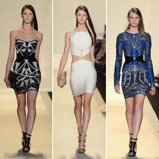 Hervé Léger's Spring 2013 New York Fashion Week Collection