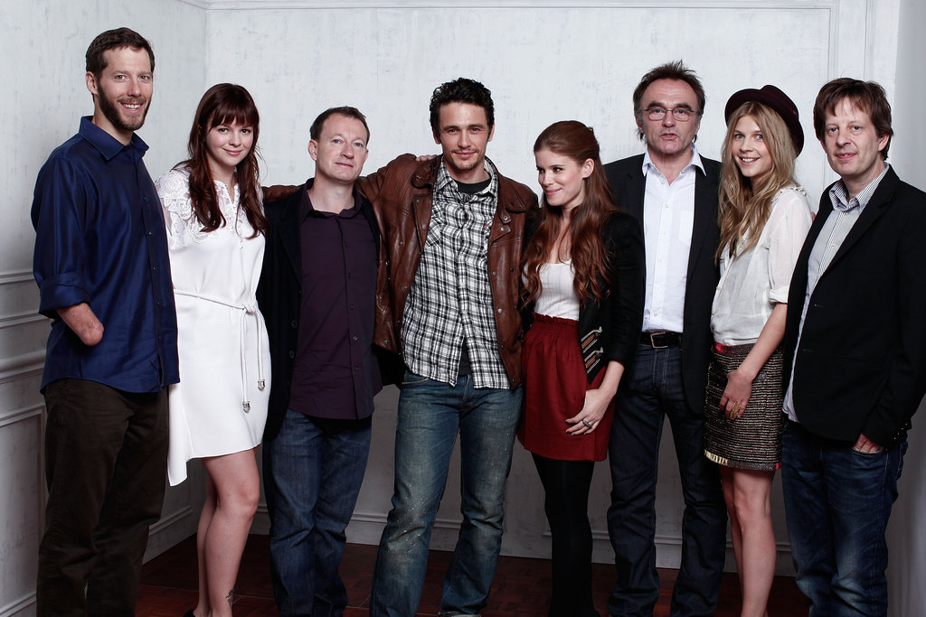 James Franco and the cast of 127 Hours snapped a photo at the 2010 TIFF.