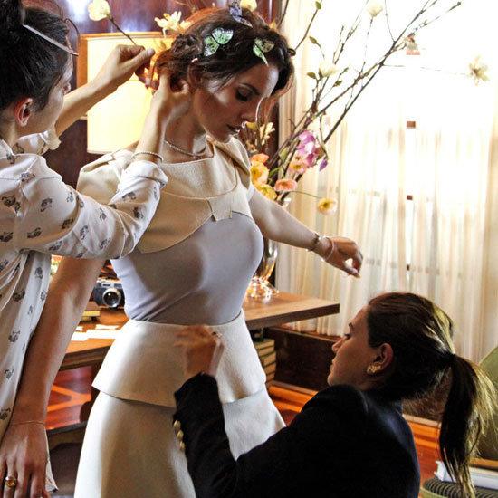 See Behind the Scenes of Lana Del Rey's Vogue Australia September 2012 Cover, Styled by Christine Centenera