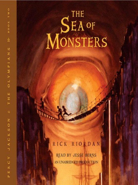 Percy Jackson: The Sea of Monsters by Rick Riordan