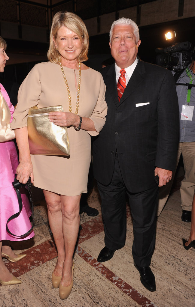 Martha Stewart also attended the lunch.