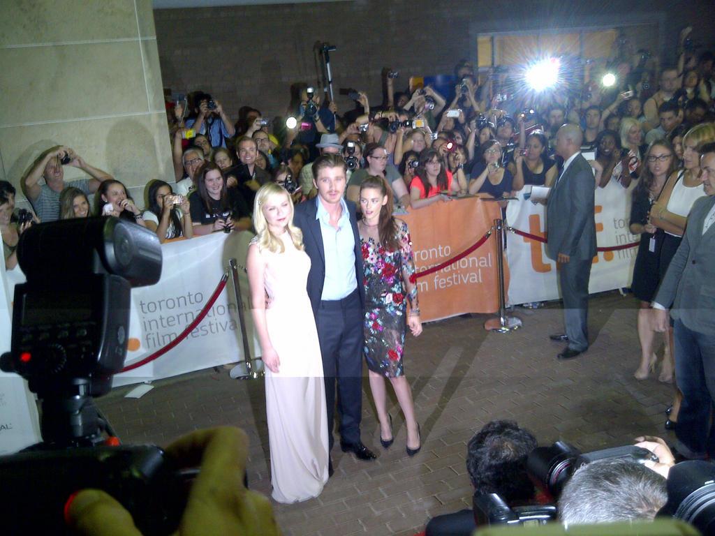 Kristen Stewart Hits the Red Carpet in Toronto