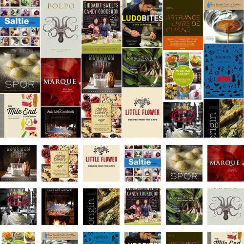 Restaurant Cookbooks Fall 2012