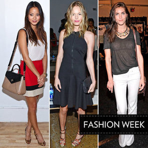 Pictures Of Celebrities At Spring 2013 New York Fashion Week