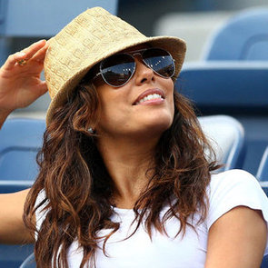 All The Celebrities At The 2012 US Open In New York