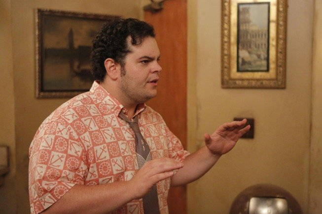 Josh Gad guest stars on New Girl as Bearclaw.