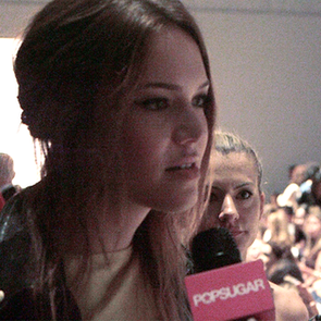 Mandy Moore Fashion Week Interview | Video