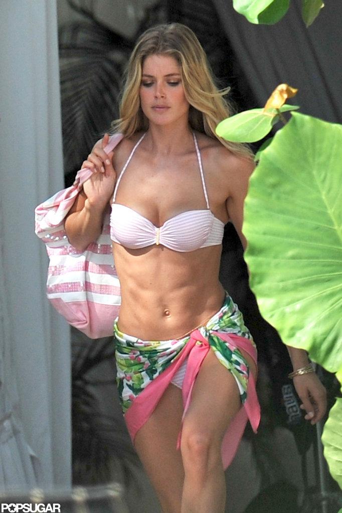 Doutzen Kroes Bikini Pictures For Victoria S Secret