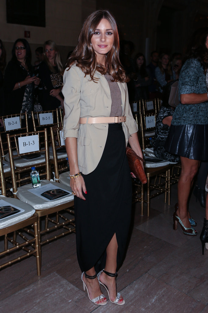Olivia Palermo was eclectic-chic (per usual!) at Marchesa.