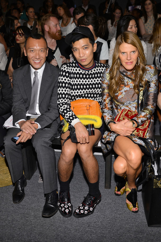 Joe Zee, Bryan Boy and Anna Dello Russo