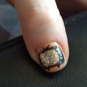 Zooey Deschanel's TV Nails at the 2012 Emmys